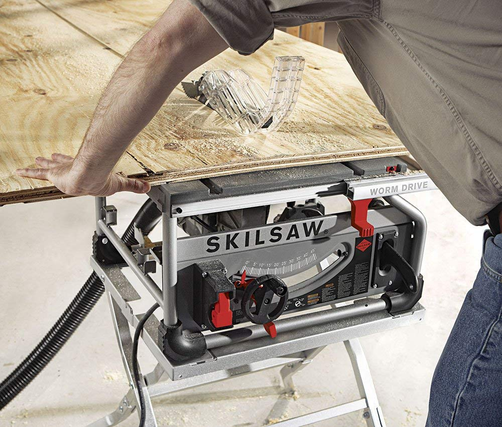 Skilsaw Portable 10 Inch Drive SPT70WT -01 Table Saw