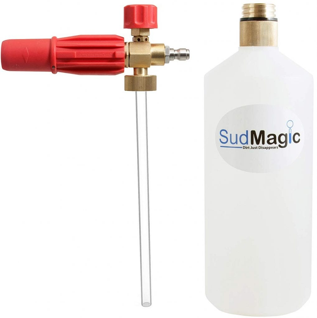SudMagic Foam Canon Pressure Washer Gun