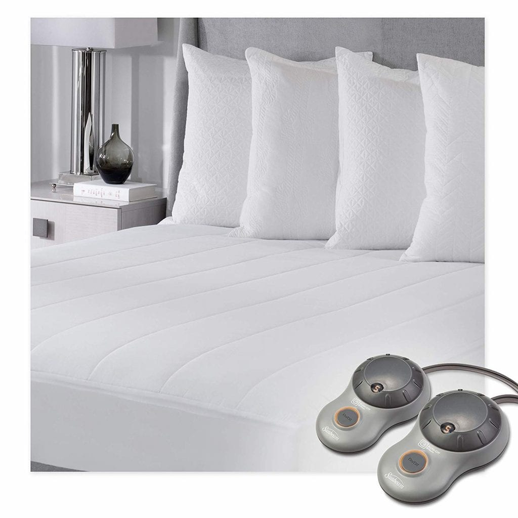 Sunbeam Heated Mattress Pad with 10 Heat Settings