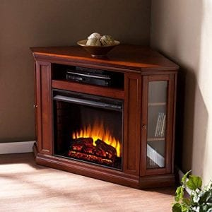 Alcott Hill Electric Fireplace TV Stand