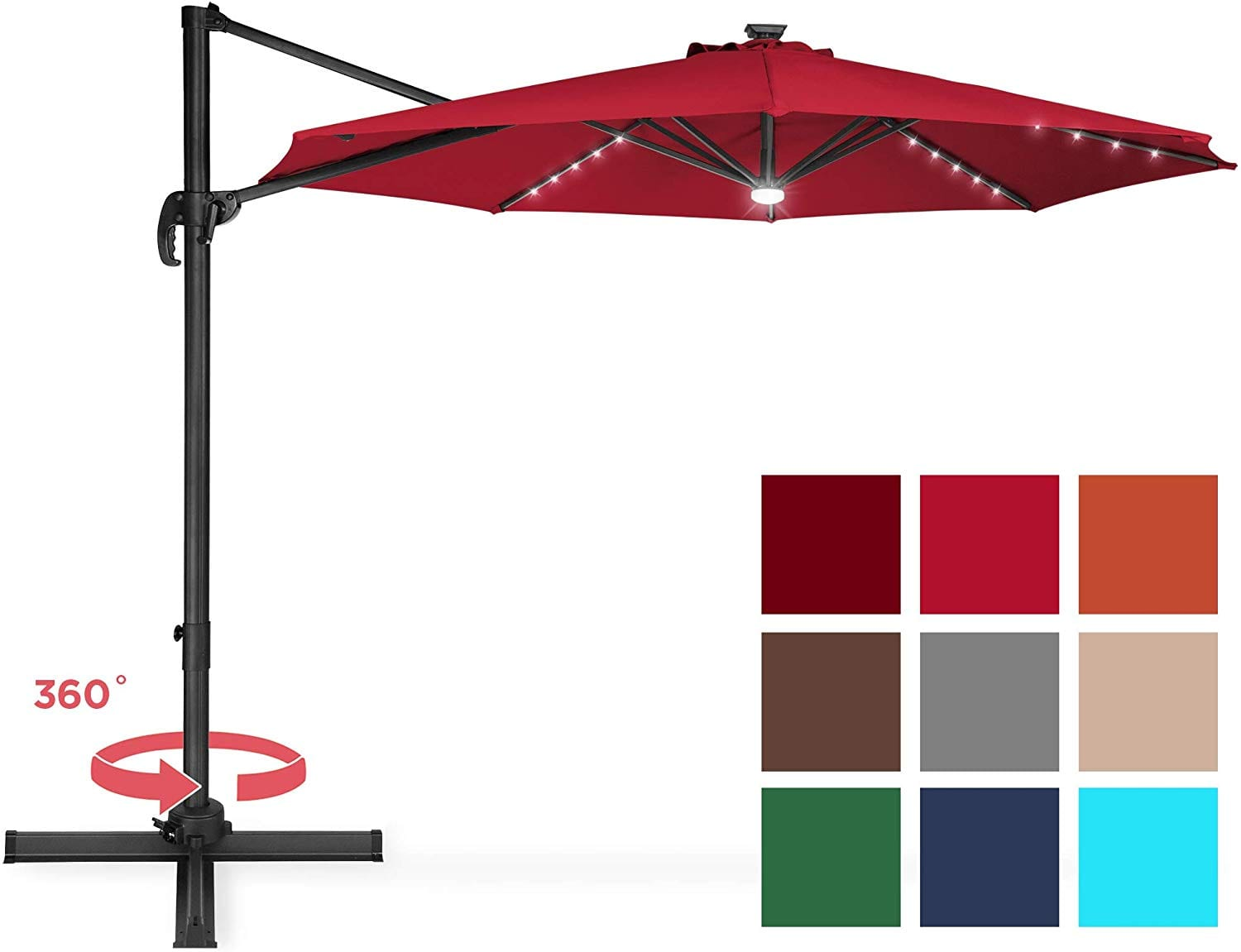 Best Choice Products Cantilever Patio Umbrella