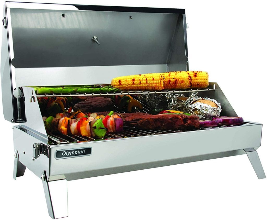 Camco Olympian 6500 Stainless Steel Portable Gas Grill