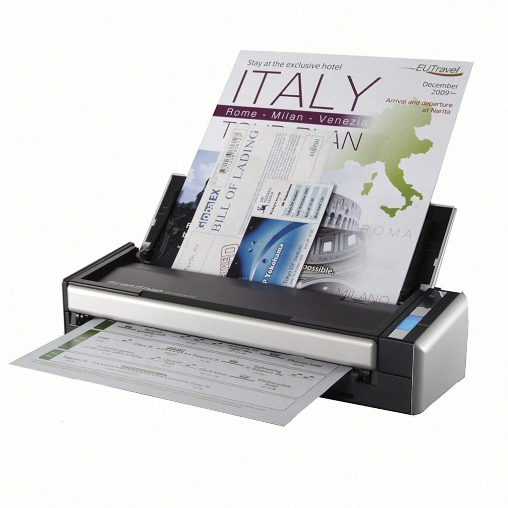 Fujitsu ScanSnap S1300 Portable Color Duplex Document Scanner for Mac and PC