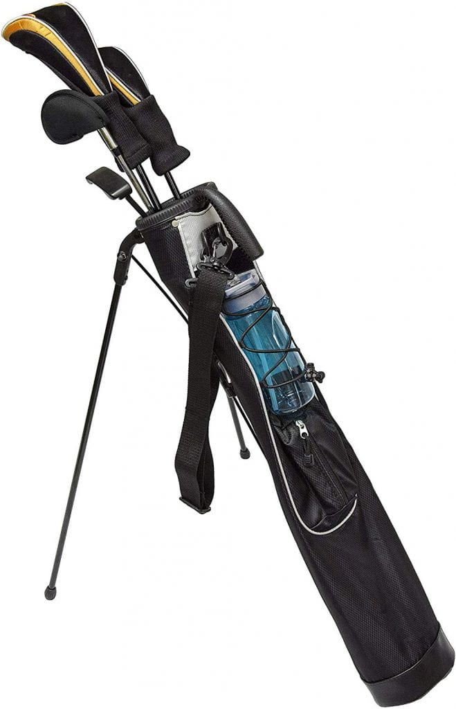 JEF WORLD OF GOLF Sunday Bag with Stand