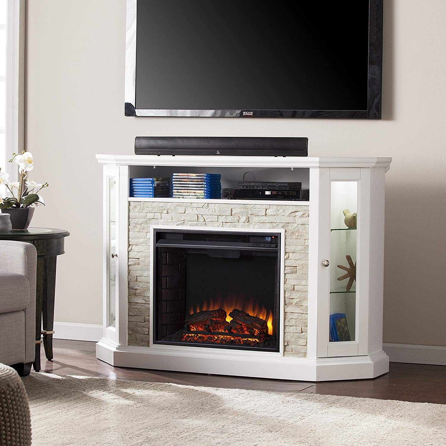 The Best Corner Fireplace Tv Stands In 2020 Buyer S Guide