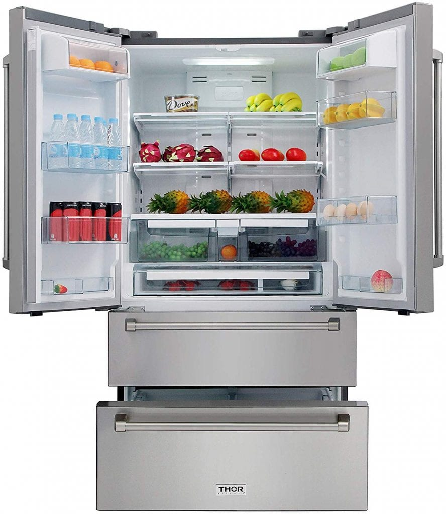 Thor Kitchen Automatic Refrigerator with Counter Depth