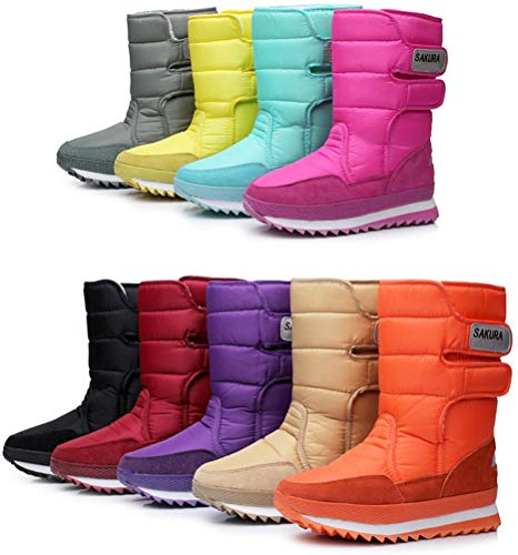 Women's Waterproof Frosty Snow Boot by DADAWEN