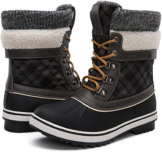 Women's Waterproof Winter Snow Boots by GLOBALWIN