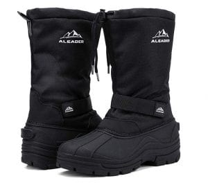 ALEADER Men's Insulated Winter Boots