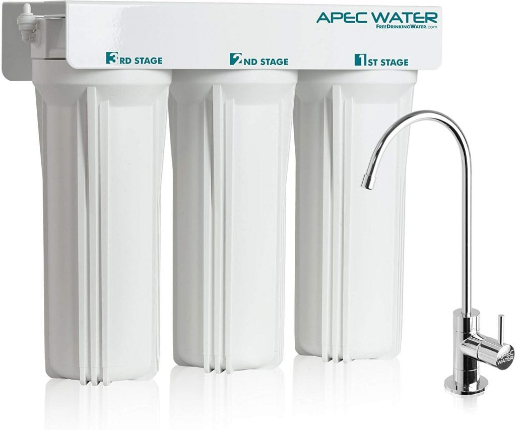 APEC 3-Stage Under Sink Water Filter