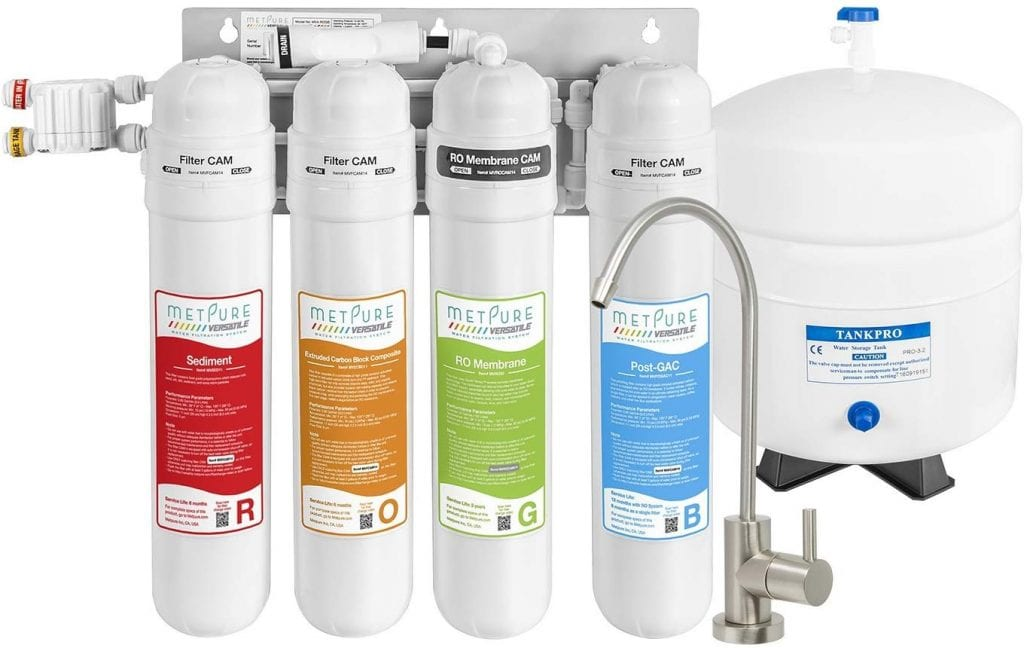 METPURE Under Sink Water Purifier