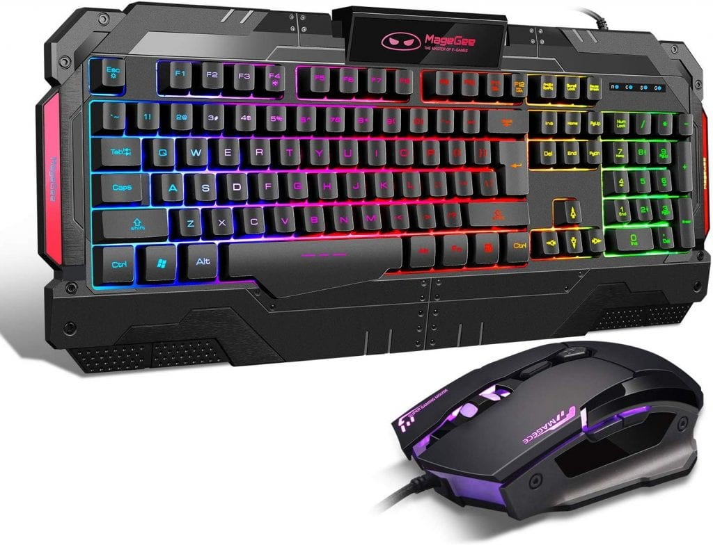 MageGeeK806 LED Keyboard and Mouse Set