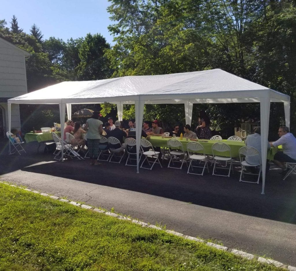 Quictent 10' by 30' Party Tent
