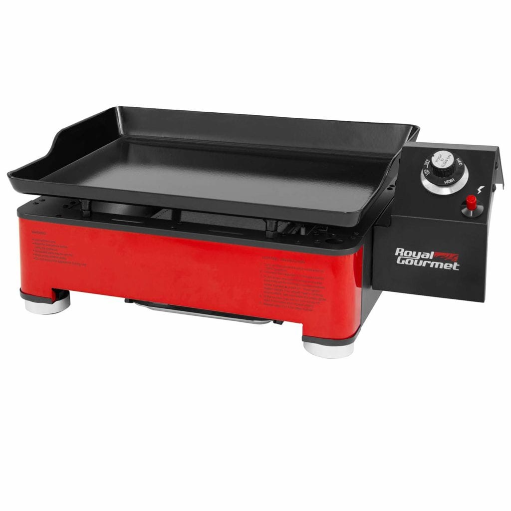 Royal Gourmet PD1202R Portable Table Top Propane Gas Grill Griddle
