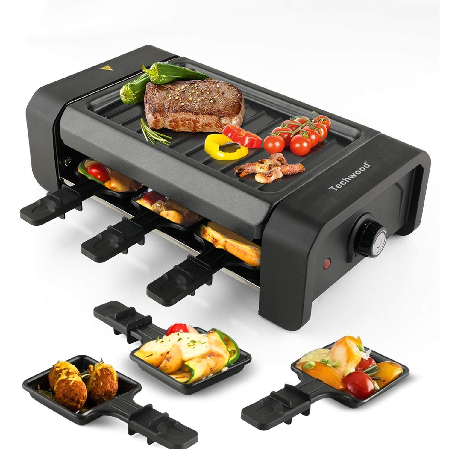 Techwood Electric Tabletop Raclette Grill