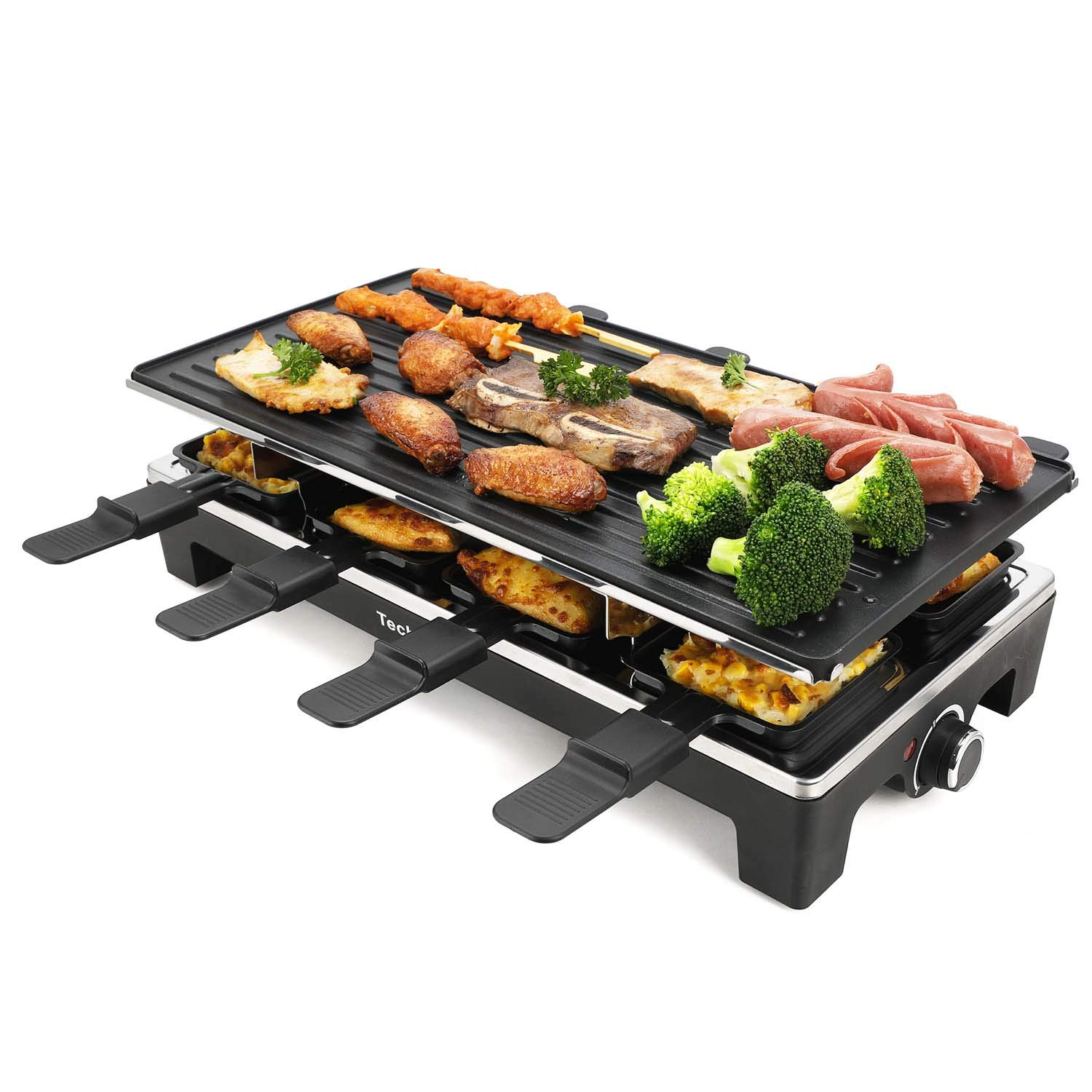 Techwood Raclette Grill Raclette Party Grill