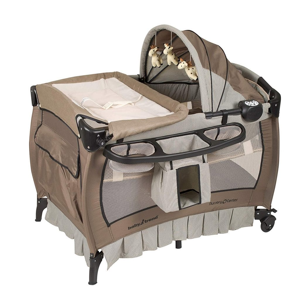 Baby Trend Nursery Center, Haven Wood