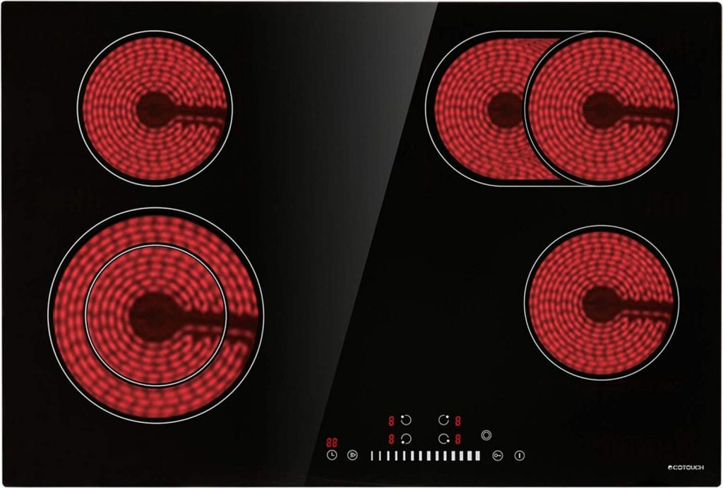 ECOTOUCH Radiant Cooktop 4 Burner