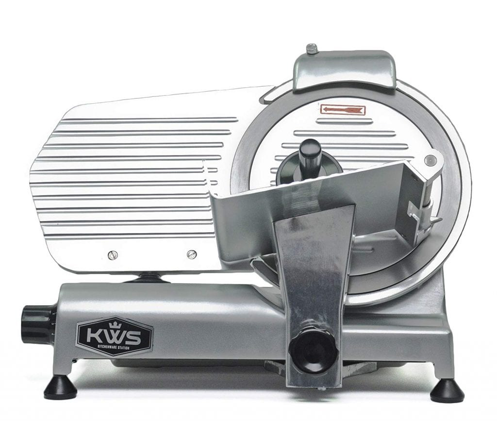KWS MS-10NS Premium Commercial 320-watt Electric Food Slicer