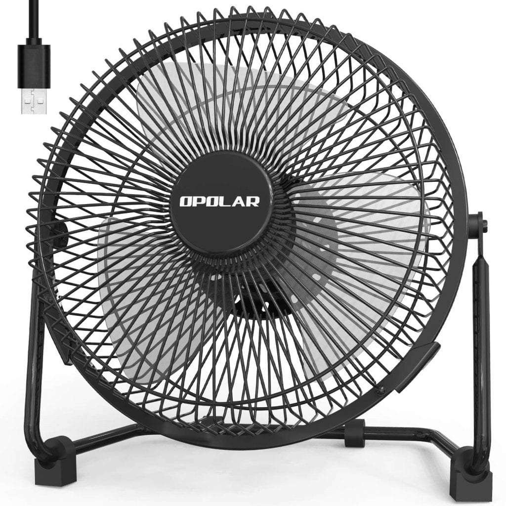 OPOLAR USB Powered Desk Fan
