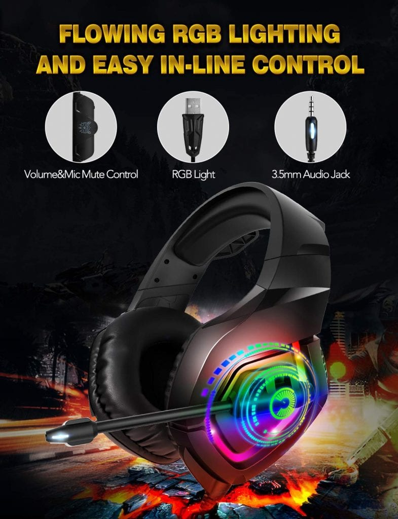 RUNMUS K1 Gaming Headset