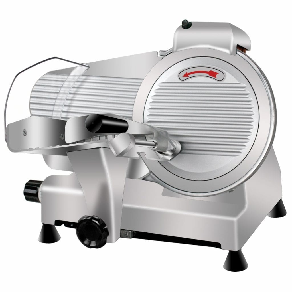Super Deal Commercial Semi-Auto Meat Slicer