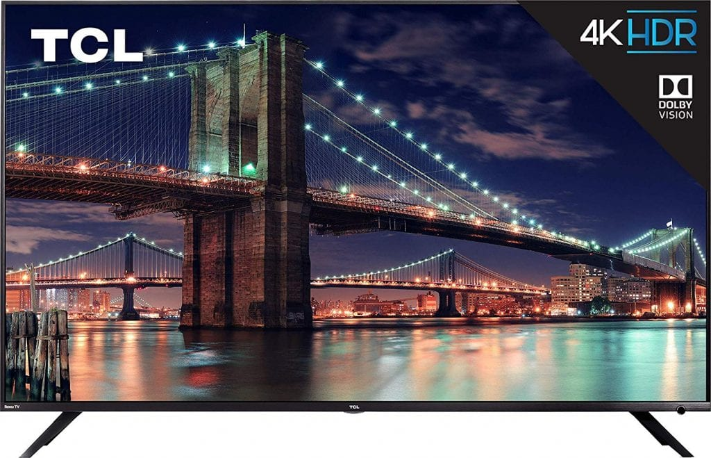 TCL 75R617 80 inch tv