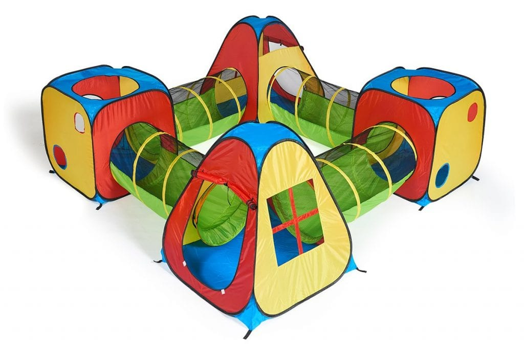 UTEX 8 in 1 Pop Up Children Play Tent