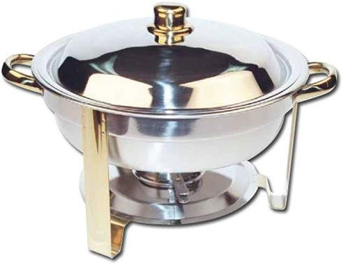 Winco 4 Quartz Stainless Steel Chafer