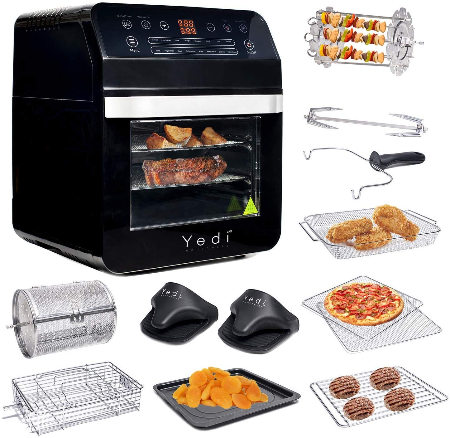 Yedi Total Package Air Fryer Oven XL