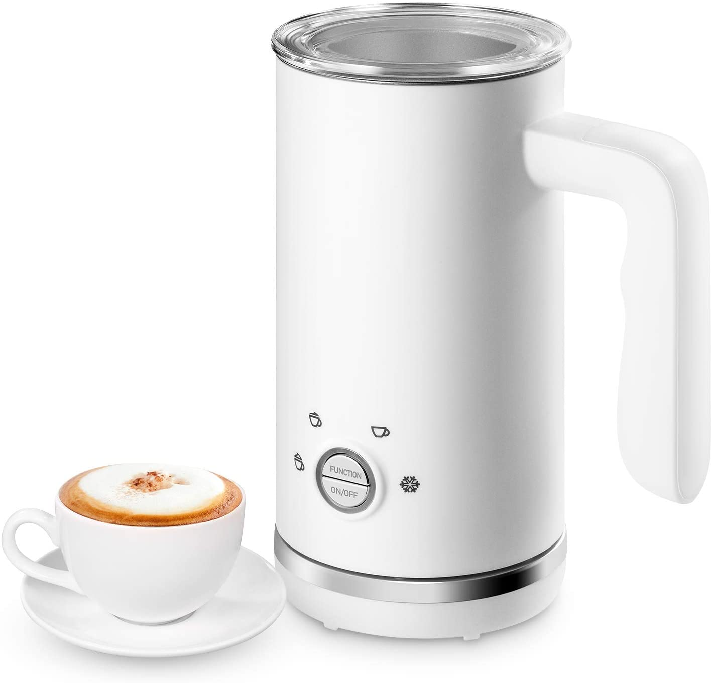 EPLIANS Automatic Electric Milk Steamer and frother