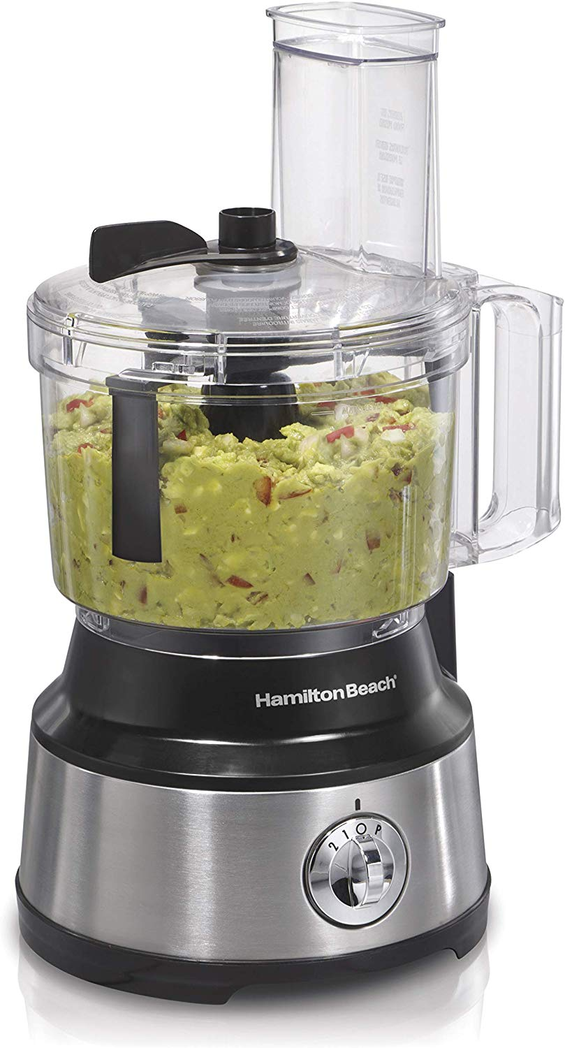 Hamilton 10-cup vegetable chopper and food processor