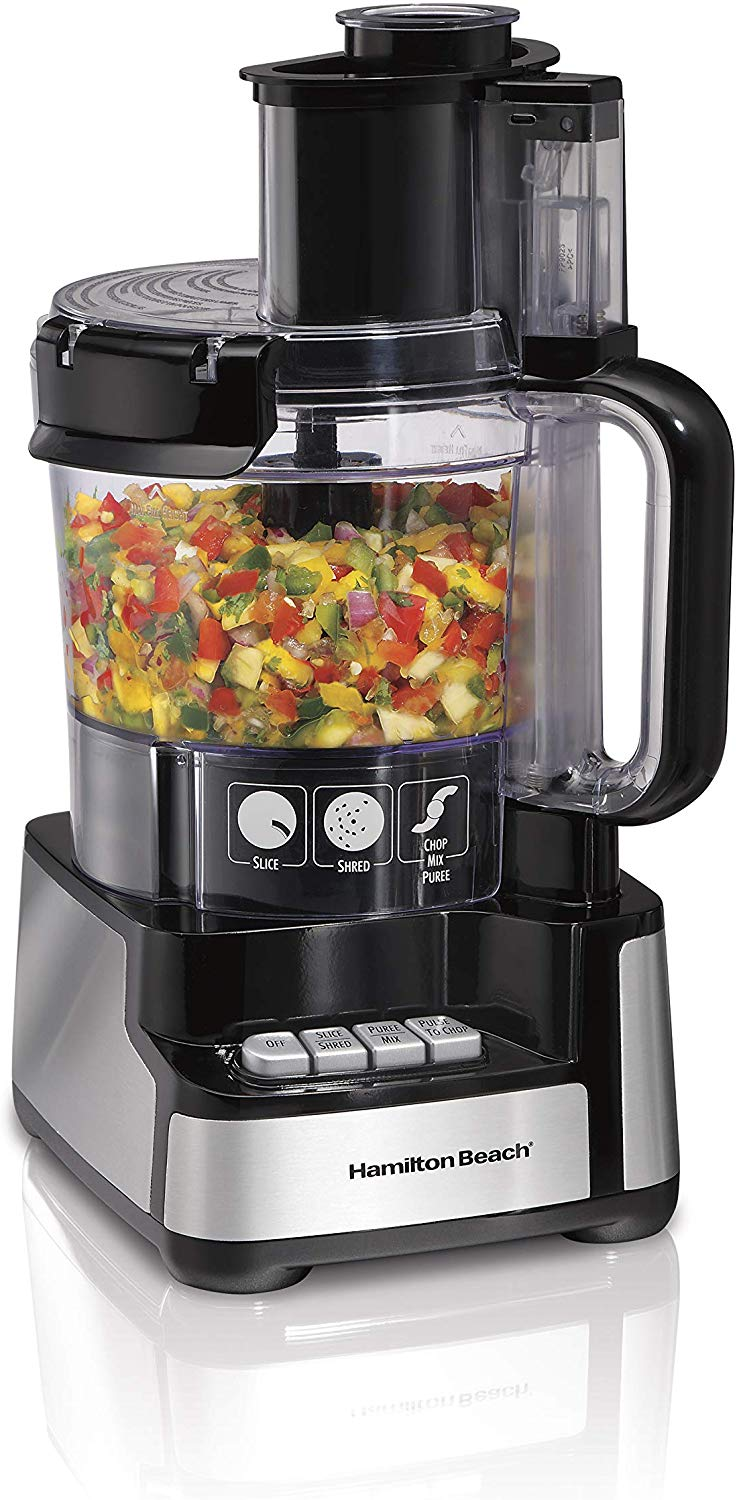 Hamilton Beach 12-cup vegetable chopper and food processor