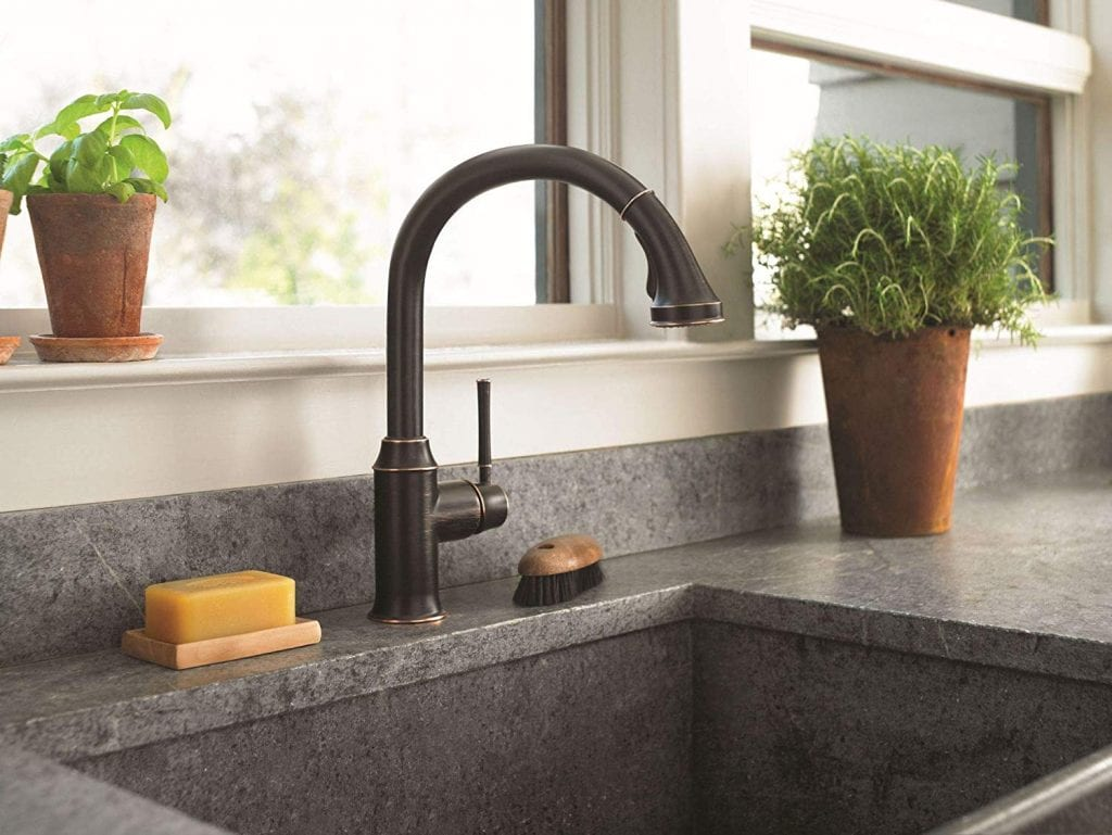 HansgroheTalis C Premium 1-Handle 15-inch Tall Kitchen Faucet