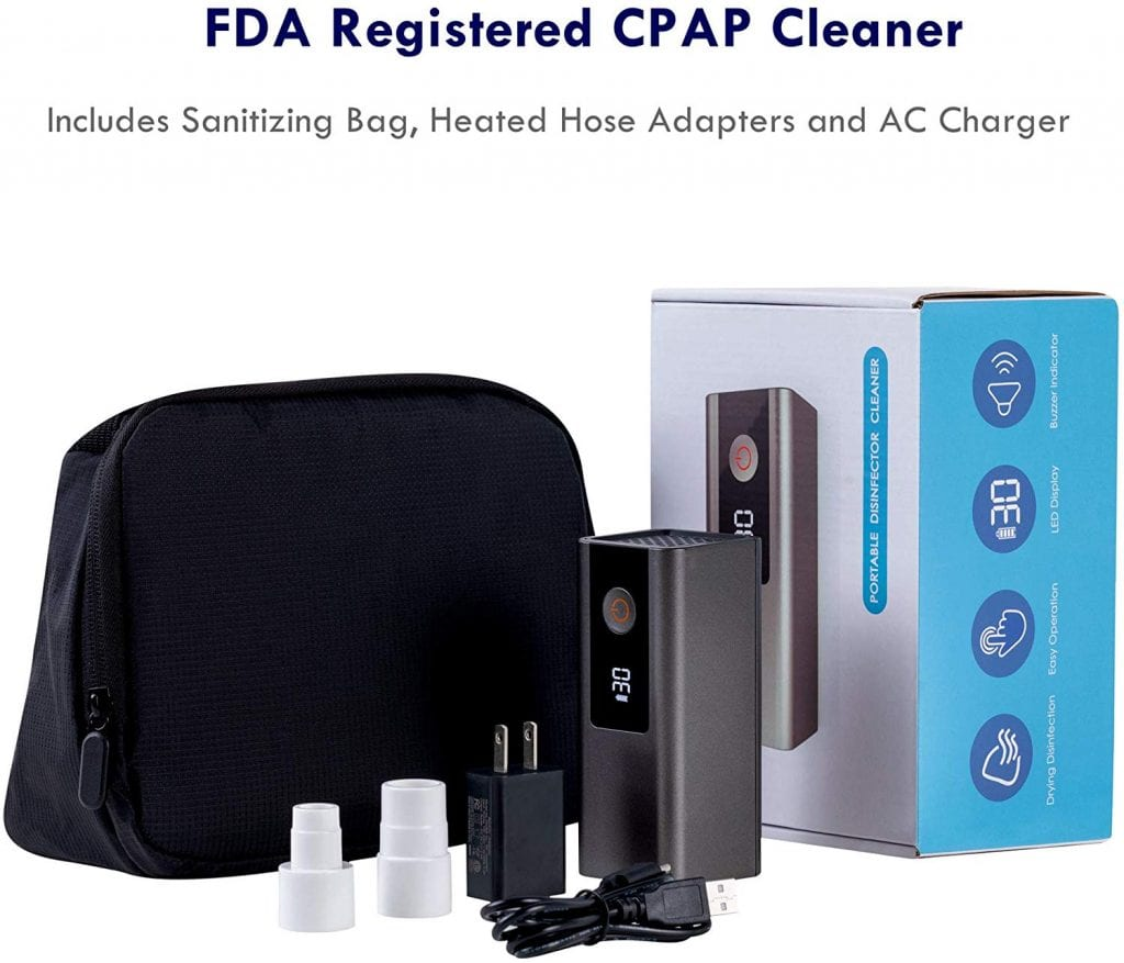 LEEL CPAP Cleaner and Sanitizer