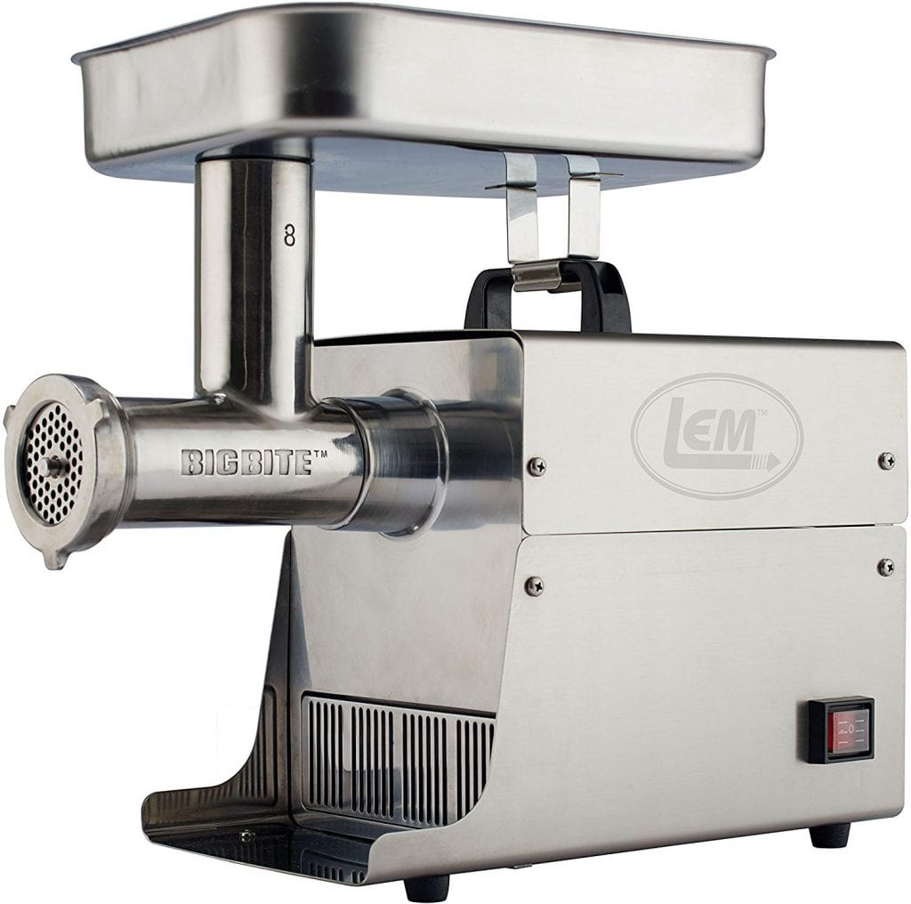 LEM stainless Steel Big Bite Meat Grinder