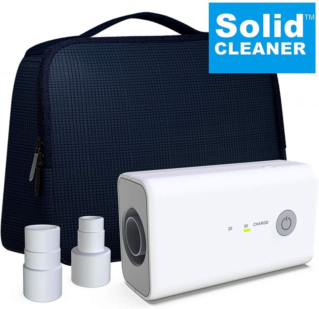 New SolidCLEANER CPAP Cleaner and Sanitizer Bundle