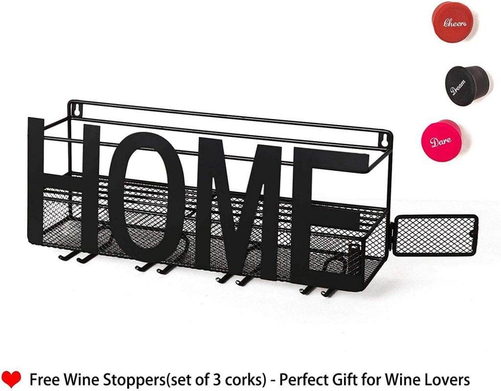 SODUKU Wall Mounted Wine Glass Rack