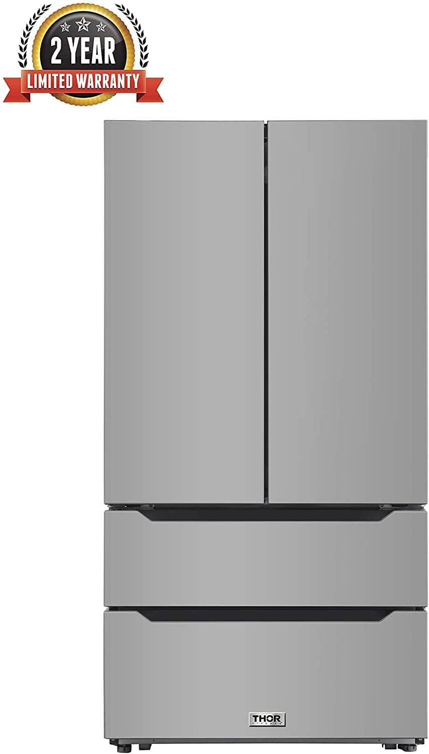 Thor Kitchen 36 Inch Wide 22.5 cu.ft Stainless Steel Refrigerator