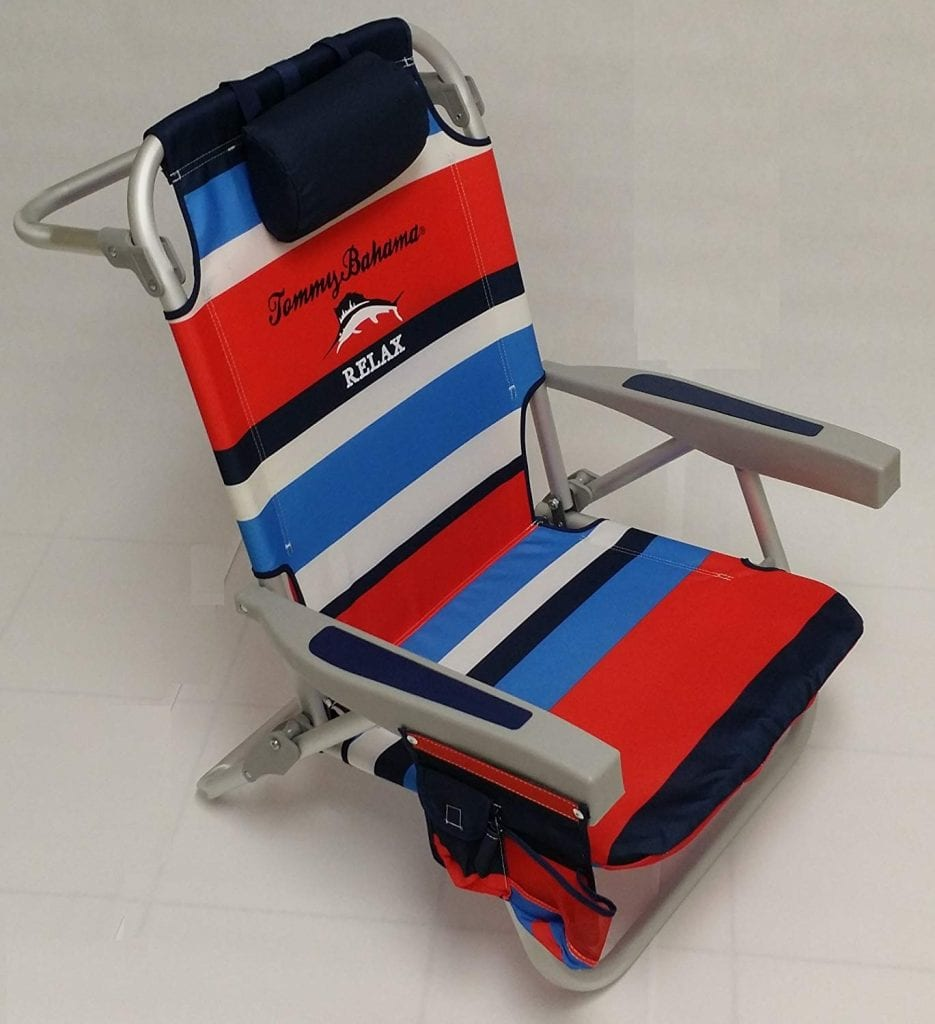 Tommy Bahama Beach Chair (Red)