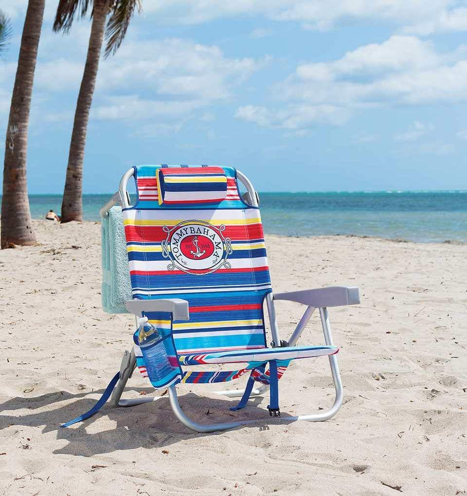 Tommy Bahama Beach Chair with Sailfish Logo