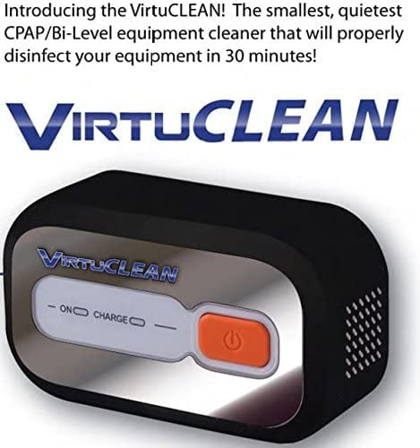 VirtuCLEAN CPAP Equipment and Mask Cleaner