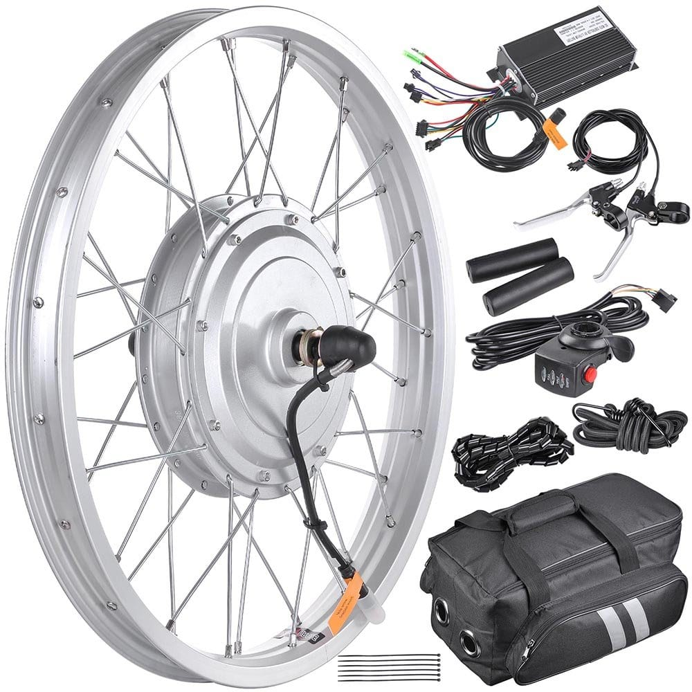 AW 20 Electric Bicycle Front Wheel Conversion Kit