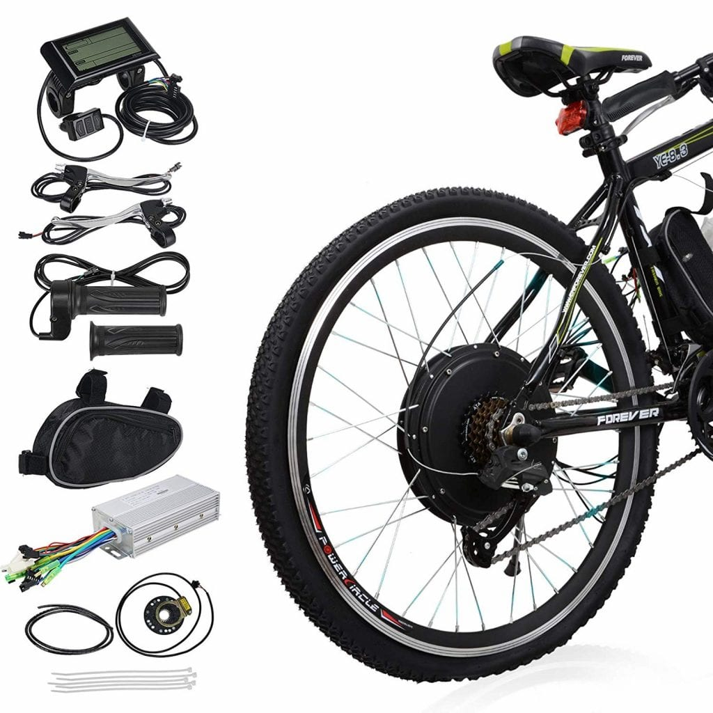 Voilamart 26 Rear Wheel Electric Bicycle Conversion Kit