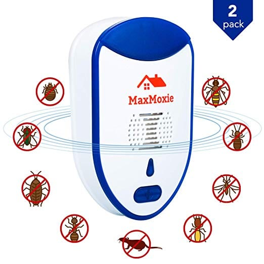MaxMoxie Ultrasonic Pest Repeller