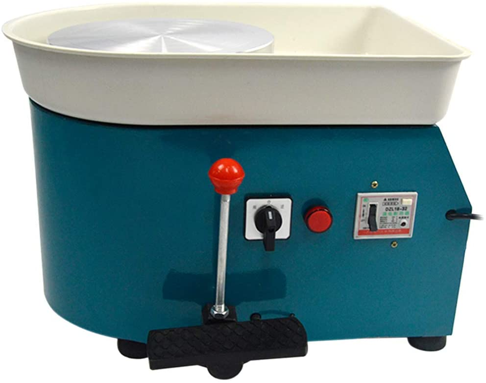 FLBETYY Pottery Wheel Forming Machine 25CM Electric Pottery Wheel