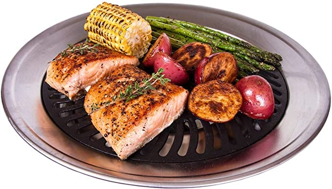 Kitchen + Home Stove Top Smokeless Grill