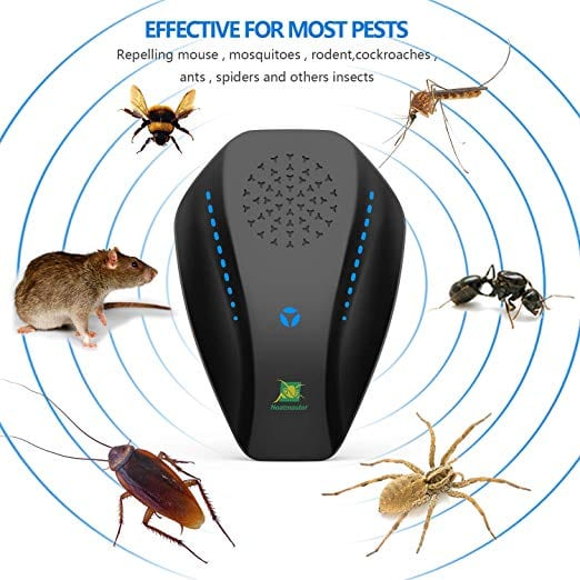 Neatmaster Dual Microchip Ultrasonic Pest Repeller