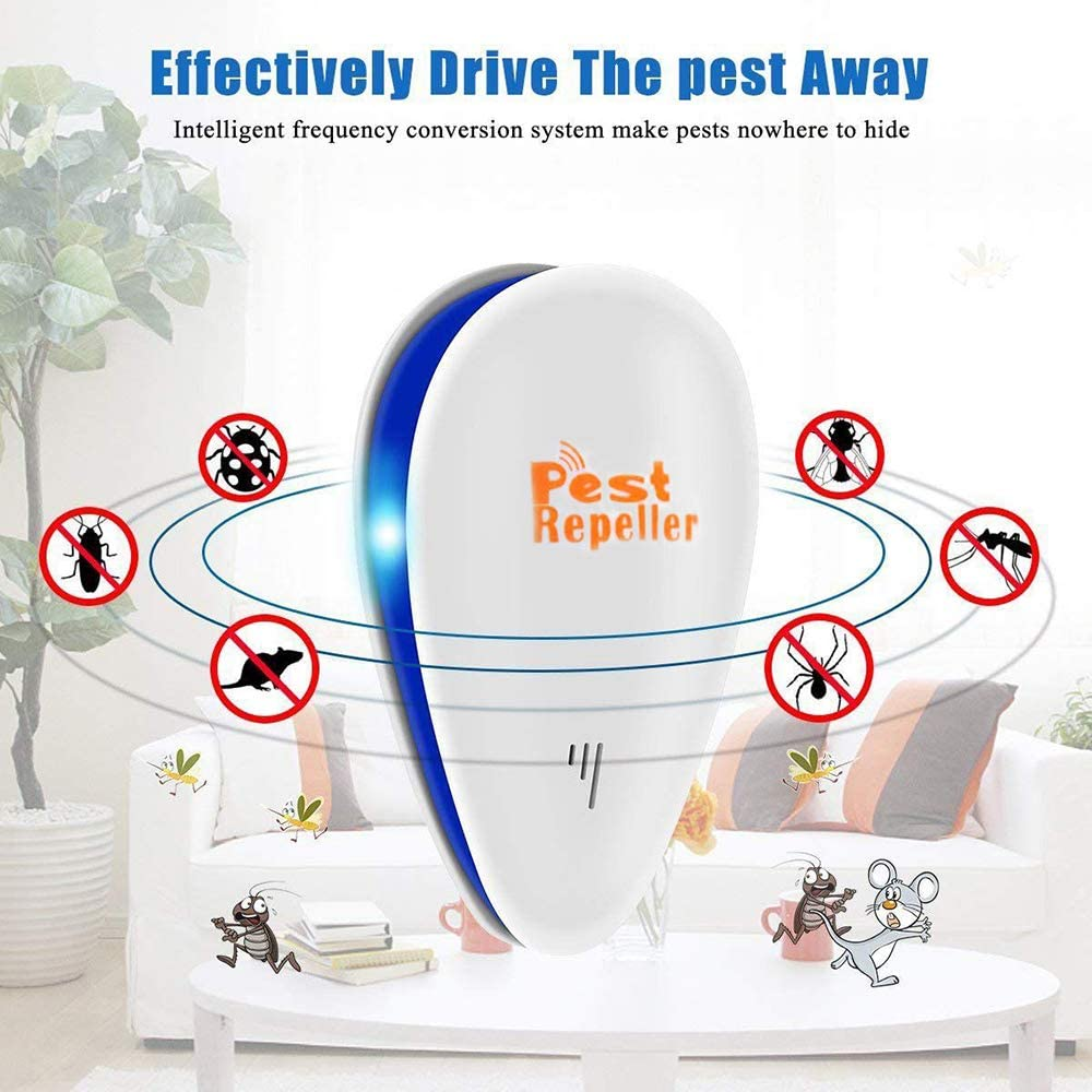 Rostermank Ultrasonic Pest Repeller 6 Pack, Electric Pest Control