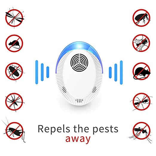 Seewinland Ultrasonic Pest Repeller, 6 Packs